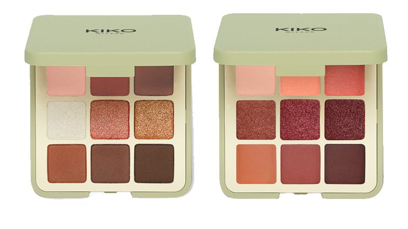 New Green Me palette