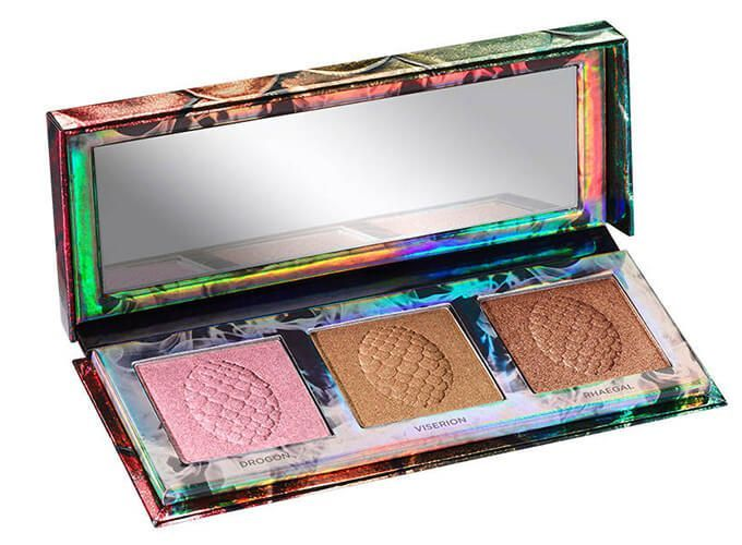 coleccion urban decay got Paleta Iluminadora Mother of Dragons