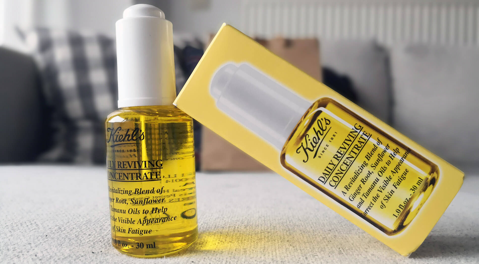 Kiehls daily reviving concentrate review español