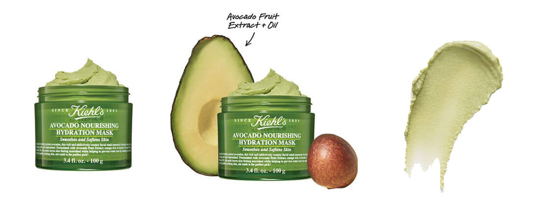 Kiehl's mascarilla aguacate review