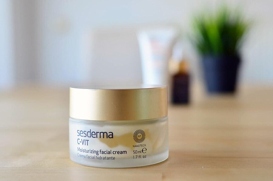 pack crema facial sesderma vitamina c