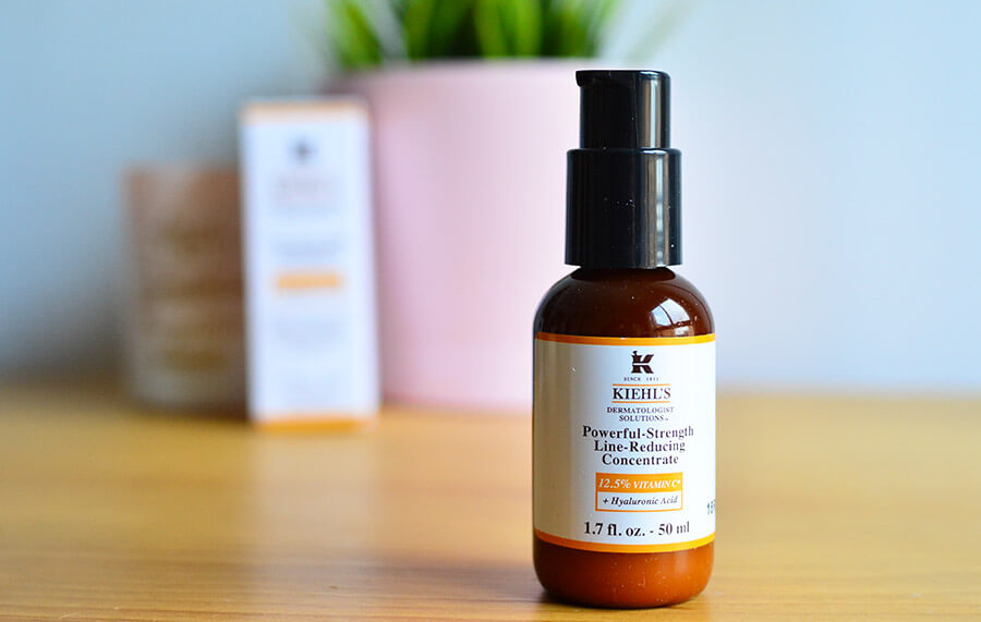 resultados Kiehls Powerful Strength Line Reducing Concentrate
