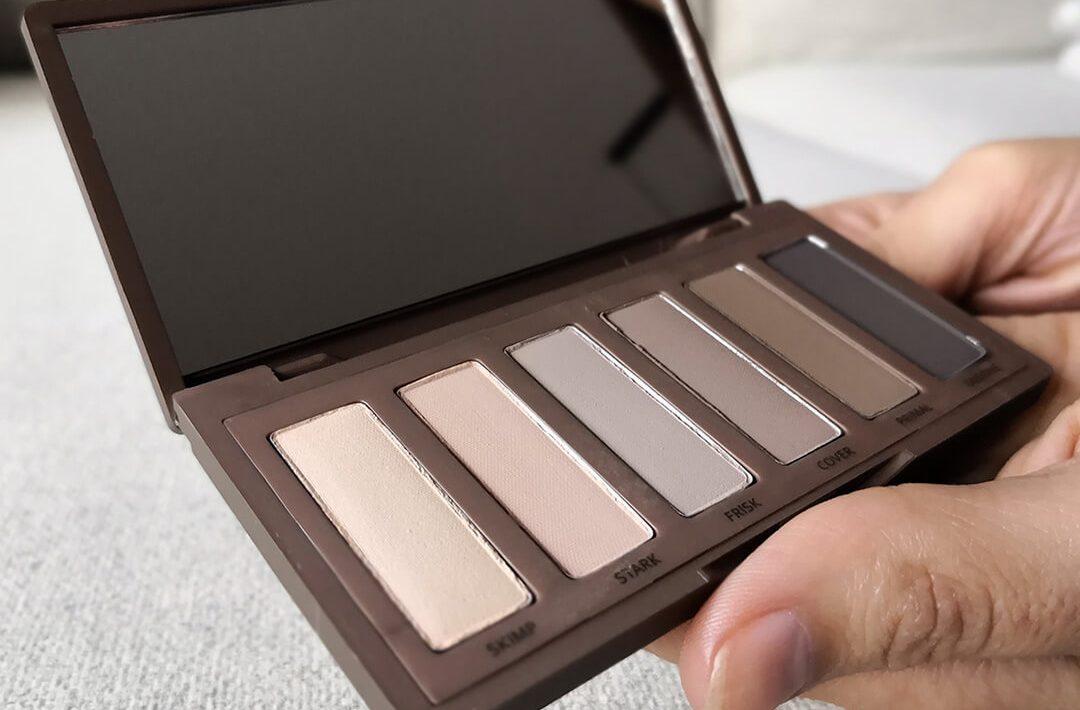 tonos paleta sombras naked 2 basics