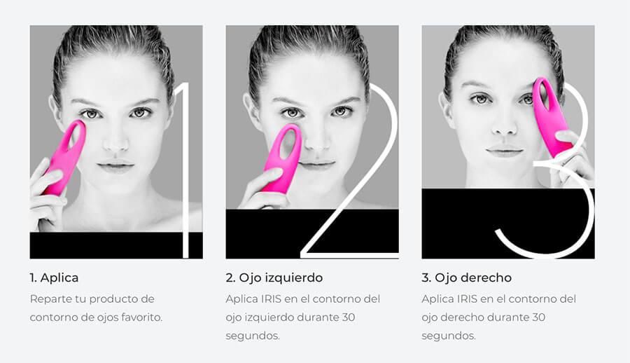 como se usan los limpiadores faciales foreo