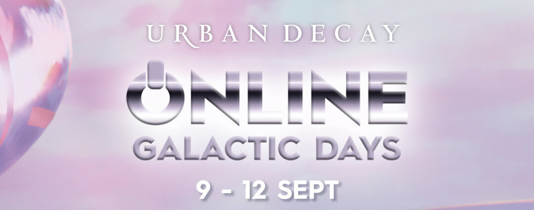 ofertas Urban Decay online galactic days 2021